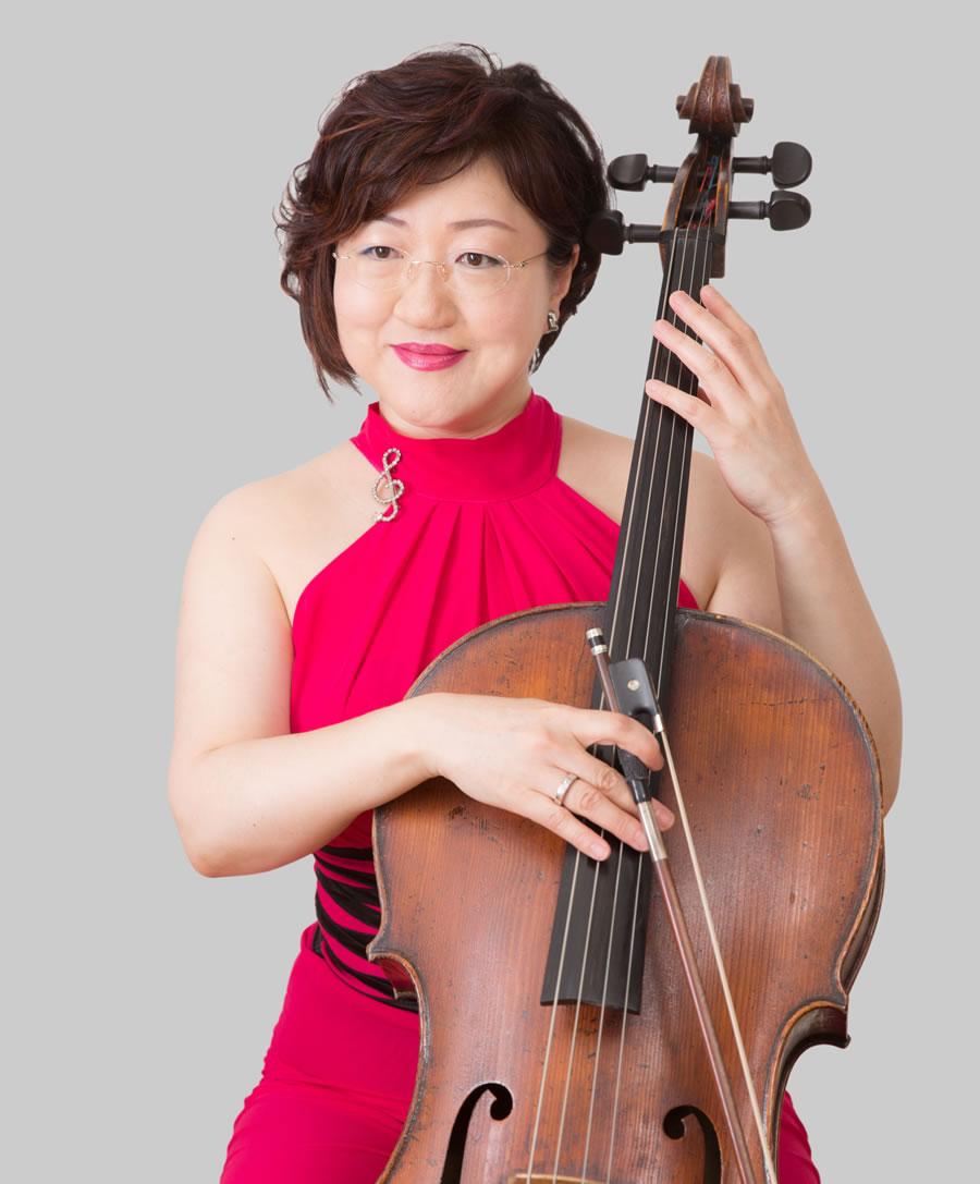 Hiromi Uekusa (cello)